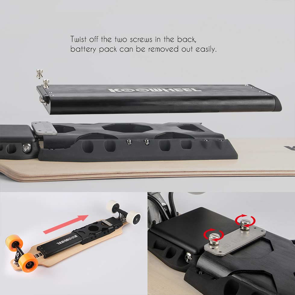Koowheel Electric Skateboard Battery  5500mAh  Accessories  PET