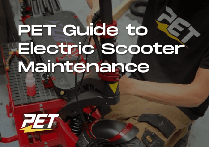 Guide To Electric Scooter Maintenance