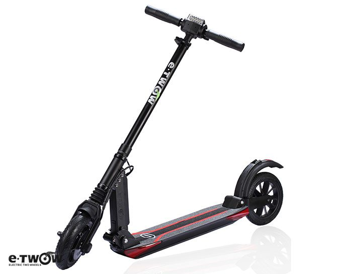 e twow booster v 10 5ah electric scooter urban mobility pet. Black Bedroom Furniture Sets. Home Design Ideas