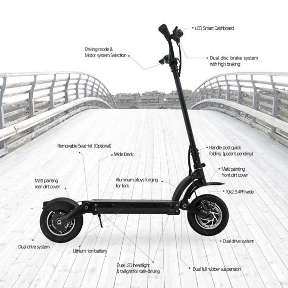 Dualtron II EX+ Electric Scooter