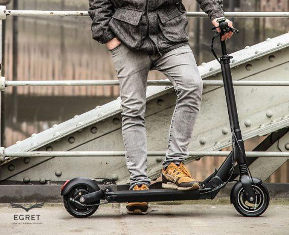 egret eight v2 electric foldable scooter egret scooters. Black Bedroom Furniture Sets. Home Design Ideas