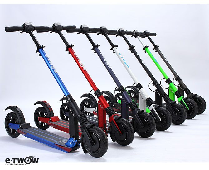 e twow booster s 7 5ah electric scooter urban mobility. Black Bedroom Furniture Sets. Home Design Ideas
