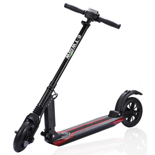 etwow-booster-S-electric-scooter-black-London-Personal-Electric-Transport-UK