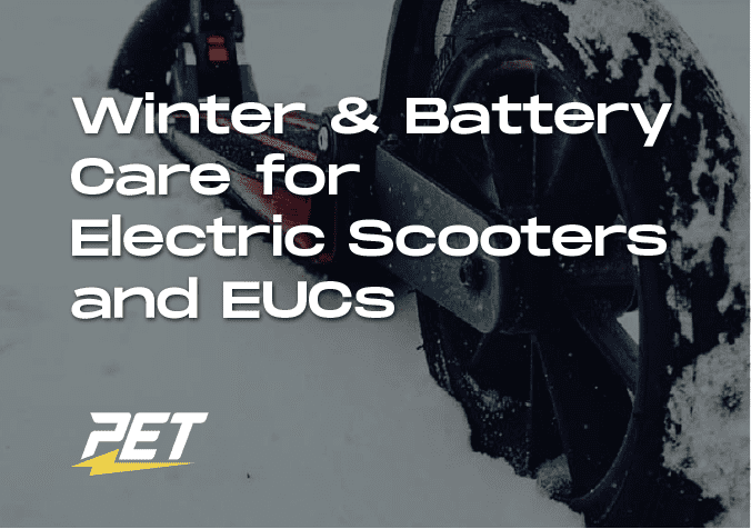 Winter Battery Care for Scooters and EUCs