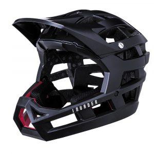 Kali_Invader_Solid_Matt_Black_Helmet_escooter_accessories_London_Personal-Electric-Transport-London-UK
