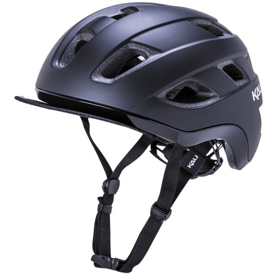 Kali_Traffic_Solid_Matt_Black_Helmet_ebike_accessories_London_Personal-Electric-Transport-London-UK