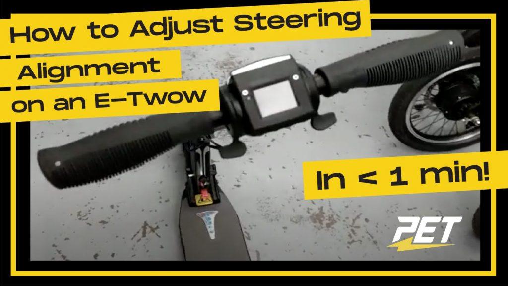 Etow_Electric_Scooter_Steering_Alignment_Repair