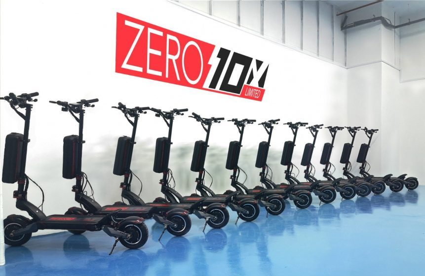 Zero 10x Personal Electric Transport, London UK
