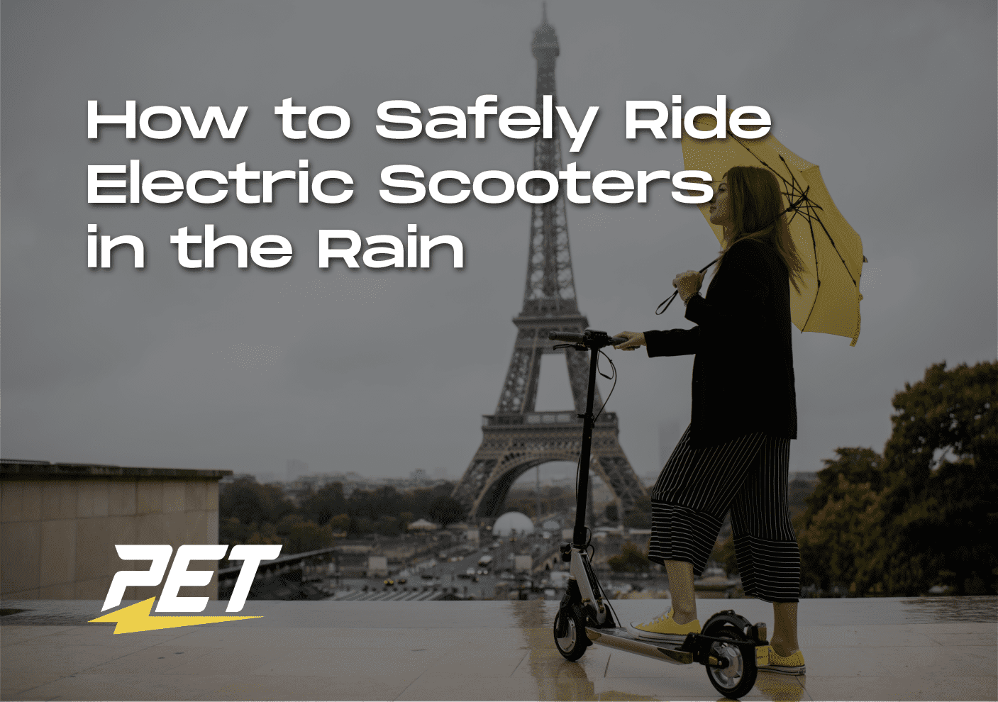 Safely Ride Scooters in the Rain_Blog Banner