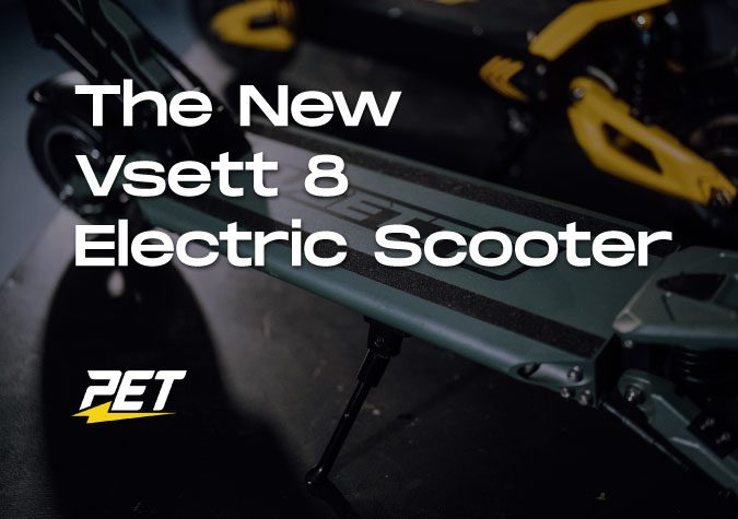Vsett 8 Electric Scooter