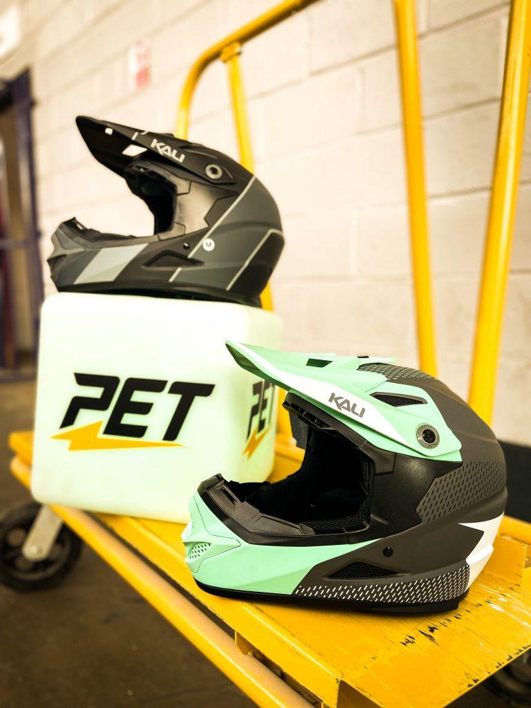 New Kali Zoka Full Face Helmet PET
