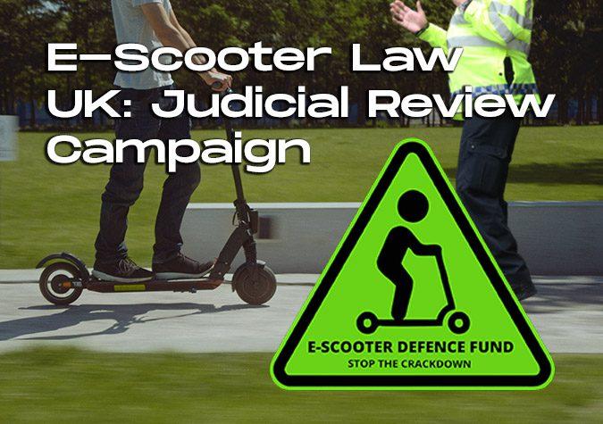 E-Scooter Law UK: Judicial Review Campaign ESDF-PET-Blog-Cover--